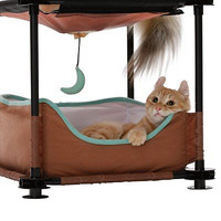 Kitty Cat Bed Sleeper Condo Toys Pet Supplies Play Cozy Bedroom Furniture Canopy