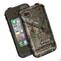 The Olive Drab Green / RealTree Xtra Green LifeProof Limited-Edition Realtree iPhone Case for the iPhone 4s / 4