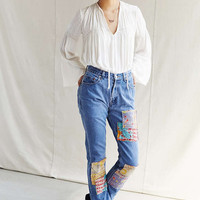 Urban Renewal Remade Kantha Patched Jean - Urban Outfitters