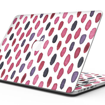 The Red and Purple Water Marks - MacBook Pro with Retina Display Full-Coverage Skin Kit