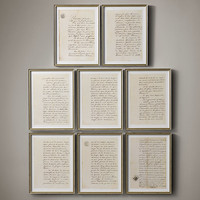 19th C. French Court Documents