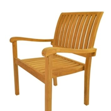 Aspen Stackable Armchair Set of 4