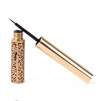 Beauty Makeup Cosmetic Black Waterproof Eyeliner Liquid Leopard Eye Liner Pen Pencil