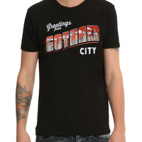 DC Comics Batman Greetings From Gotham City T-Shirt
