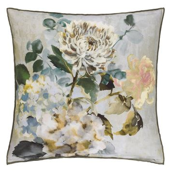 Designers Guild Adachi Celadon Decorative Pillow