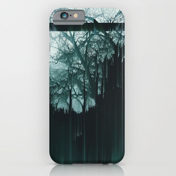 Tree Lines iPhone & iPod Case by Ducky B