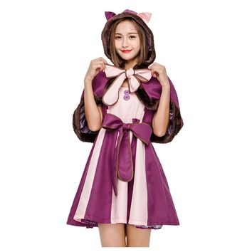 LMFC Hot Sale Alice in Wonderland Anime Cosplay Cosplay kids Fantasia Carnival Halloween Costumes for Women Dress Adult Costume