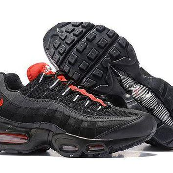 DCCKL8A Jacklish Nike Air Max 95 Essential Black/challenge Red-white For Sale