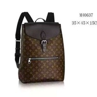 Louis Vuitton Limited Edition Ebene Arlequin-centenaire Backpack 5687 (Authentic Pre-owned)