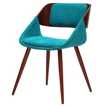 Cyprus Fabric Chair Santorini Teal Green