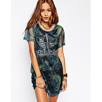 adidas Originals Hawaii Mesh Dress