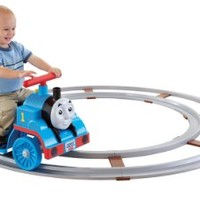 Power Wheels Thomas the Train Thomas with Track [Amazon Exclusive]