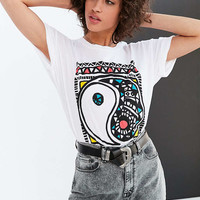 Truly Madly Deeply Mosaic Yin-Yang Tee - Urban Outfitters