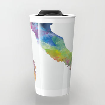 Italy Travel Mug by monnprint