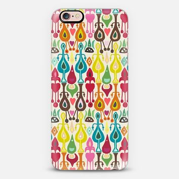 ivory love ikat iPhone 6s case by Sharon Turner   Casetify