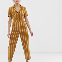 Emory Park tailored jumpsuit in pinstripe   ASOS