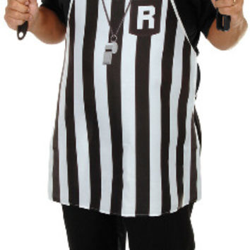 referee fabric novelty apron - one size fits most Case of 6
