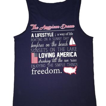 'American Dream Definition' Tank Top