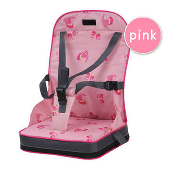 Patented product safety Portable baby seat dining chairs Ni Ya Mummy bag essential maternal infant   PINK