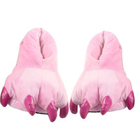 Pink Claw Fluffy Shoes