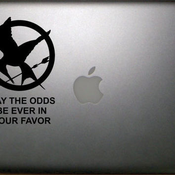 Hunger Games Inspired May the odds be ever in by NothinbutVinyl