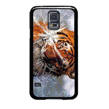 tiger in water cracked out samsung galaxy s5 s3 s4 s6 edge cases