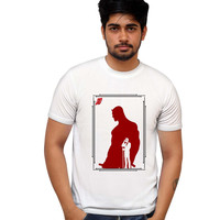 The Man Without Fear   Daredevil Inspired T- Shirt