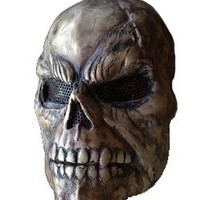 DIY Professional Deal: Nightmare Skull of Death Movie Full Face Mask for Airsoft Face Mask, Paintball ,Army, BB Gun, Halloween 1 Pcs (Durable & Elegant & Unique) - Scream Horror Camo Mask (QC Pass)