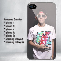 Magcon Boys Carter Reynolds With Sunglass for iPhone 4/4S/5/5S/5C and Samsung Galaxy S3/S4