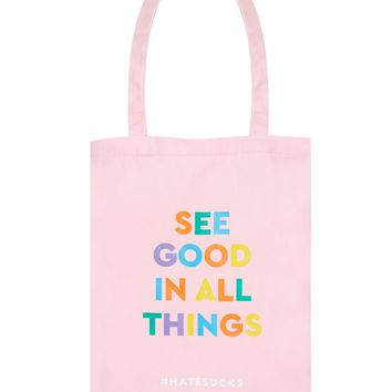 See Good Tote Bag