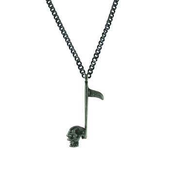 Tomahawk Skull Axe Pendant Necklace Stainless Steel