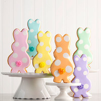 Rainbow of Cottontails Easter Cookies | Desserts & Snacks | Dean & DeLuca