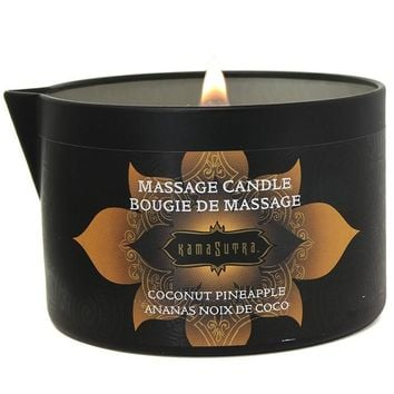 Massage Candle 6oz/170g in Coconut Pineapple