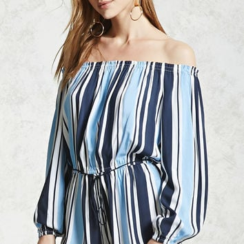 Contemporary Striped Romper
