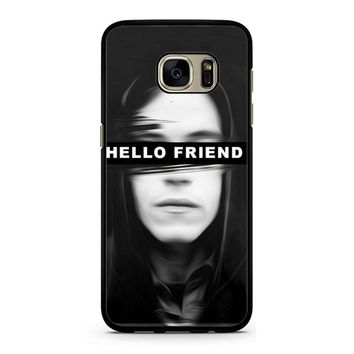 Mr Robot Hello Friends Samsung Galaxy S7 Case