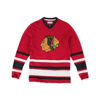 1st Period Longsleeve Chicago Blackhawks - Mitchell & Ness