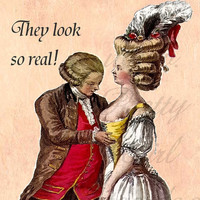 Those Boobies Look So Real Marie Antoinette by prettygirlpostcards