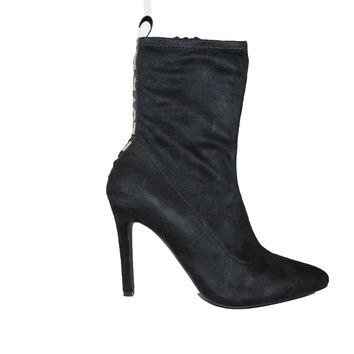 Love Suede Pointy Toe Bootie