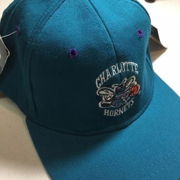 BRAND NEW VINTAGE CHARLOTTE HORNETS YOUTH STARTER ORIGINAL FITTED HAT