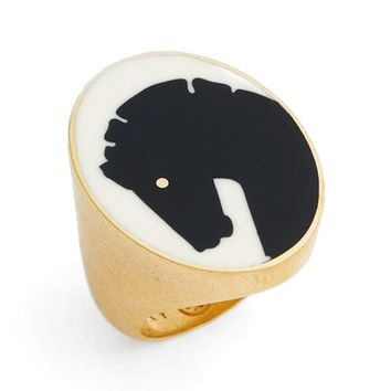 Tory Burch Horse Head Ring | Nordstrom