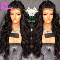 Lace Front Human Hair Wigs Brazilian Virgin Hair