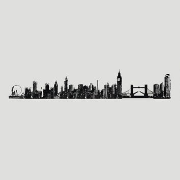 London Cityscape Vinyl Wall Decal | World Market