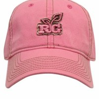 The Game's Women's Realtree Girl Relaxed Embroidered Cap - Pink