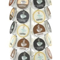 Nifty Carousel for 35 K-Cups, Chrome:Amazon:Kitchen & Dining