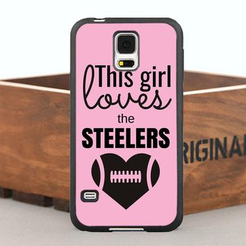This Girl Loves Steelers Case for iPhone 5 5S 6/6s/7 Plus and Case for Samsung Galaxy Note2 3 4 5 7 S4 S5 S6 Edge Plus S7 Edge