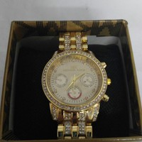 DCCK7BE Michael Kors gold watch for women or men?
