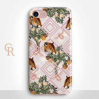 Leopard Phone Case For iPhone 8 iPhone 8 Plus iPhone X Phone 7 Plus iPhone 6 iPhone 6S  iPhone SE Samsung S8 iPhone 5 Floral Animal