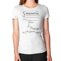 Woman Scribe Wine & Massage T-Shirt