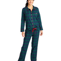 Vineyard Blackwatch Flannel Lounge Set