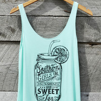 Sunshine and Sweet Tea Tank